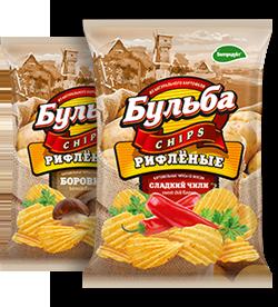 """Чипсы из натурального картофеля """"БУЛЬБА chips"""""""